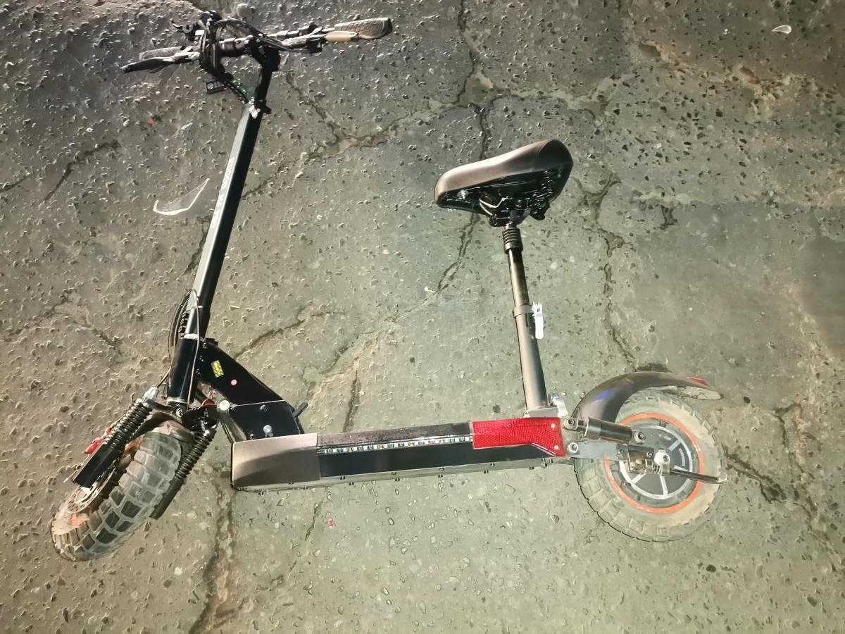 В Мичуринске водитель иномарки сбил подростка на электросамокате