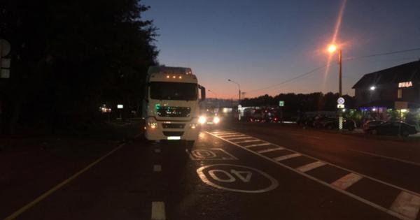 ВМихайловском районе грузовик MANнасмерть сбил пешехода