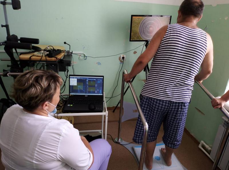В Моршанской больнице установили оборудование для реабилитации пациентов после инсульта