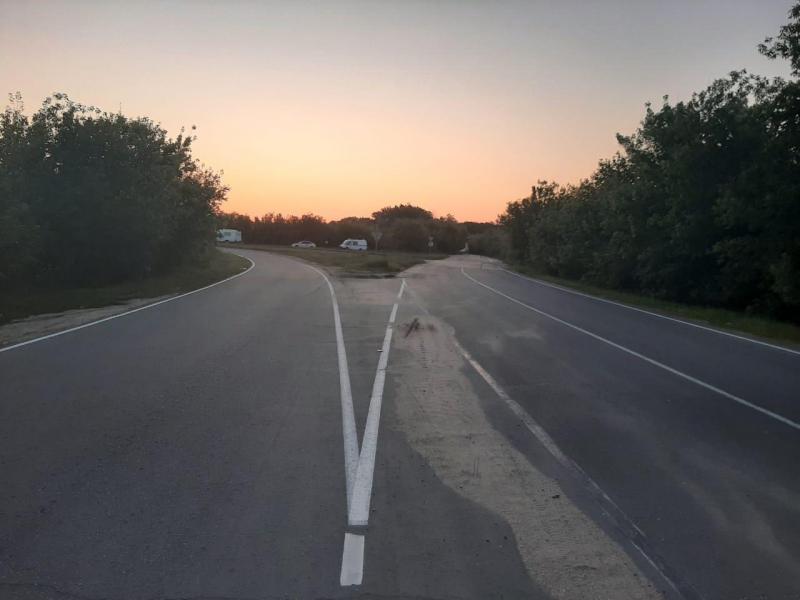 В Петровском районе насмерть разбился мотоциклист