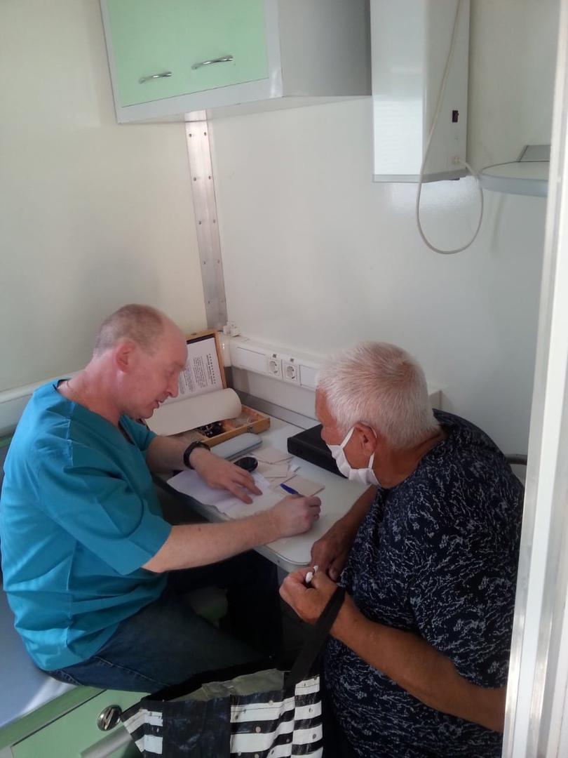 В Рассказовский район приехал мобильный диагностический комплекс