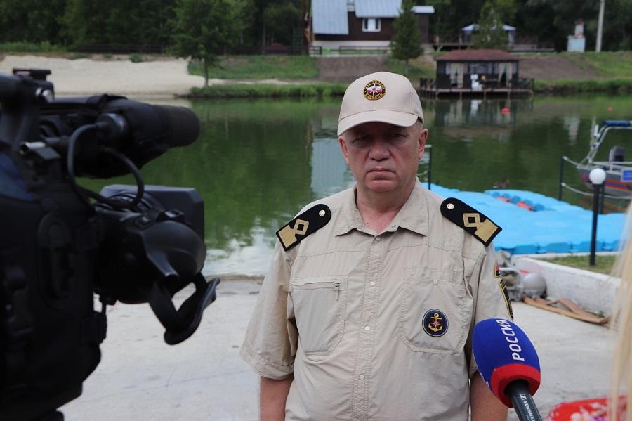 В региональном МЧС тамбовчан призвали к соблюдению правил безопасности на водоёмах
