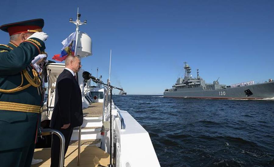 В России отмечают День ВМФ