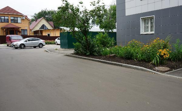 В Тамбове асфальтировали 32 дворовые территории