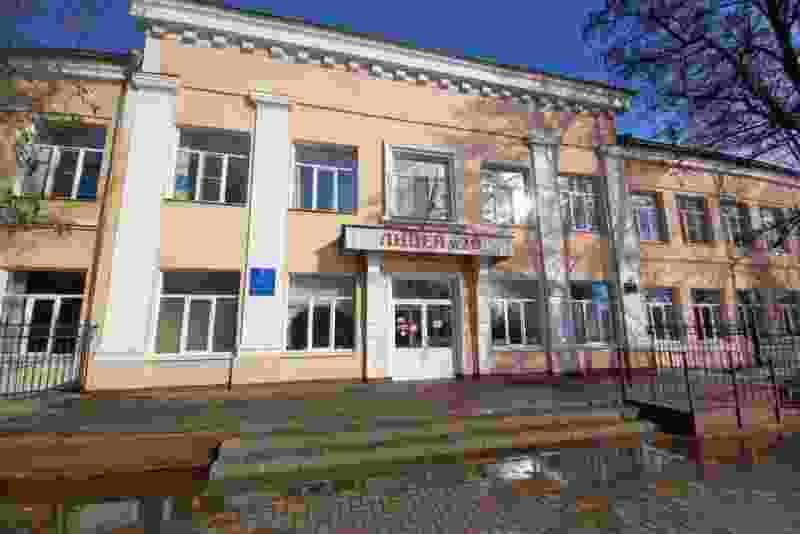 В Тамбове идёт капитальный ремонт здания лицея №29
