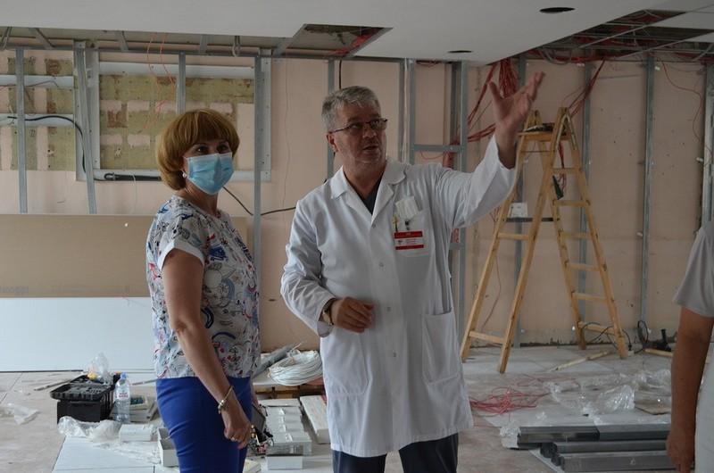 В Тамбове идёт ремонт во взрослой поликлинике четвёртой городской больницы