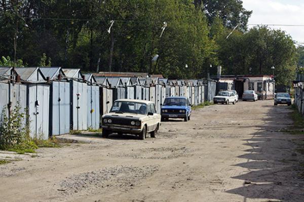 В Тамбове ищут собственников гаражей в районе улицы Олега Кошевого
