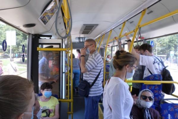 В Тамбове проверили больше 40-а автобусов на соблюдение антиковидных мер