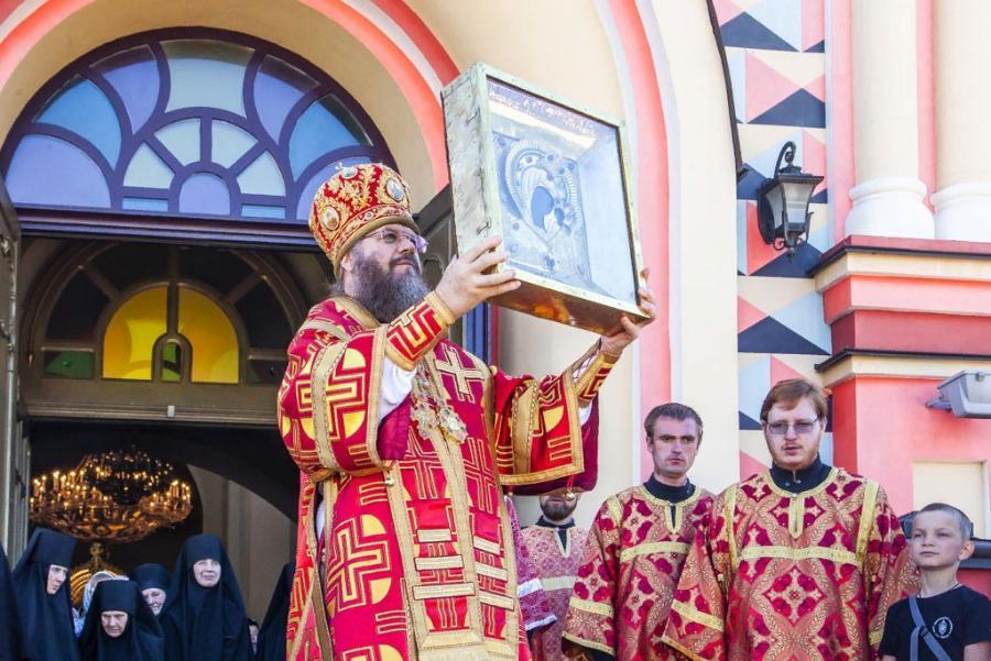 В Тамбове состоялись проводы Вышенской иконы Божией Матери