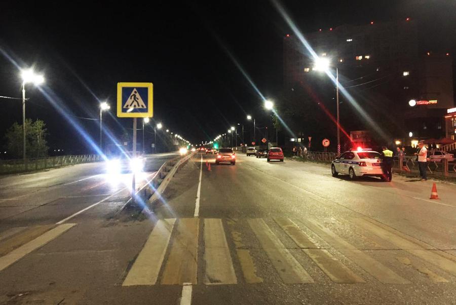 В Тамбове водитель иномарки сбил мужчину на пешеходном переходе