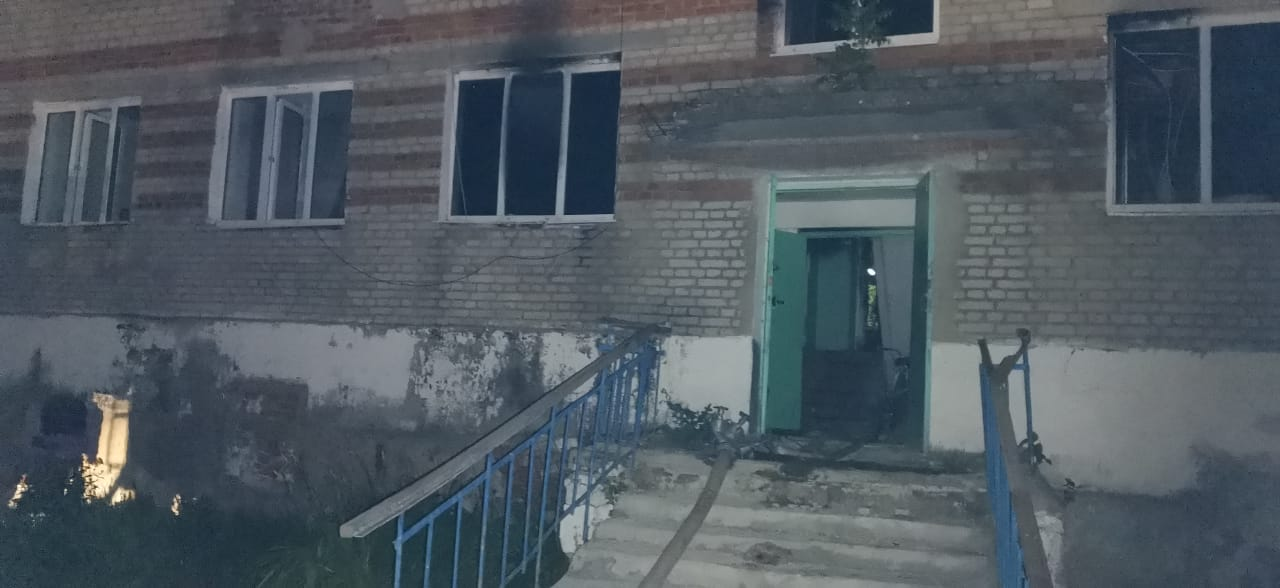 В Тамбовской области ночью горел дом-интернат для престарелых