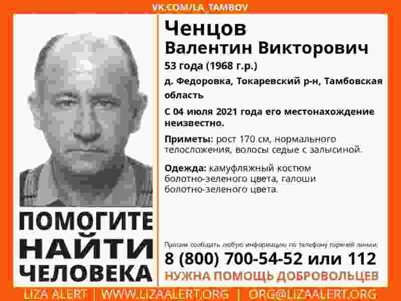 В Тамбовской области продолжаются поиски двух пожилых человек