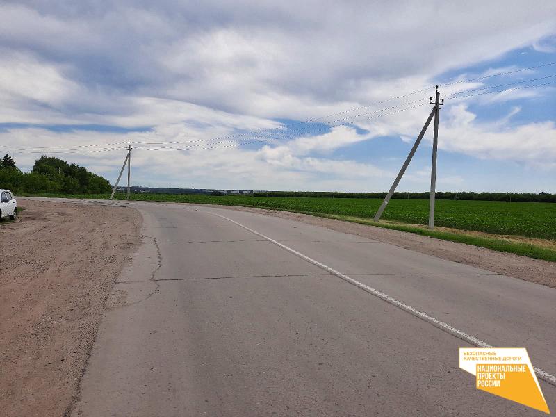 В Тамбовском районе приступили к ремонту дороги до Сампура