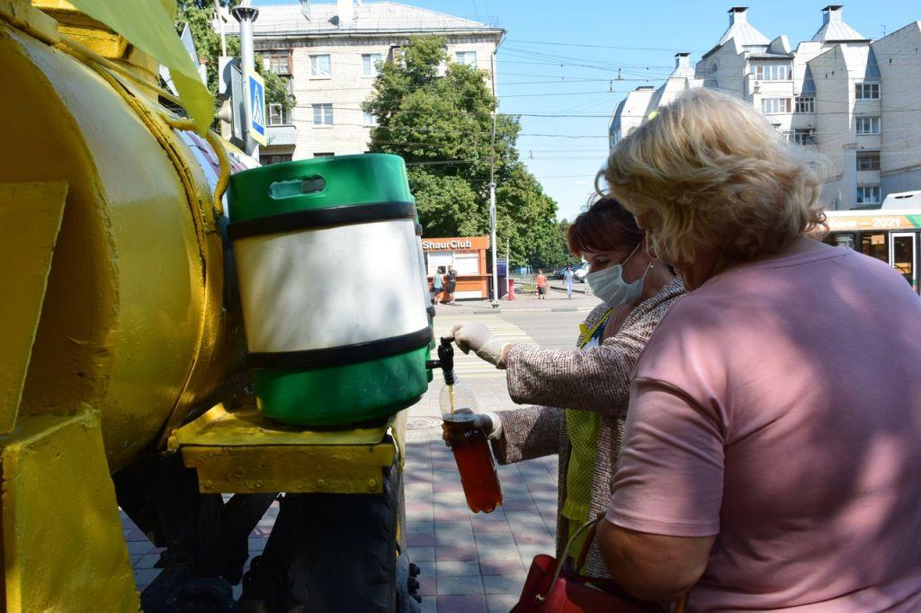 В центре Тамбова проверили точки по продаже кваса и мороженого