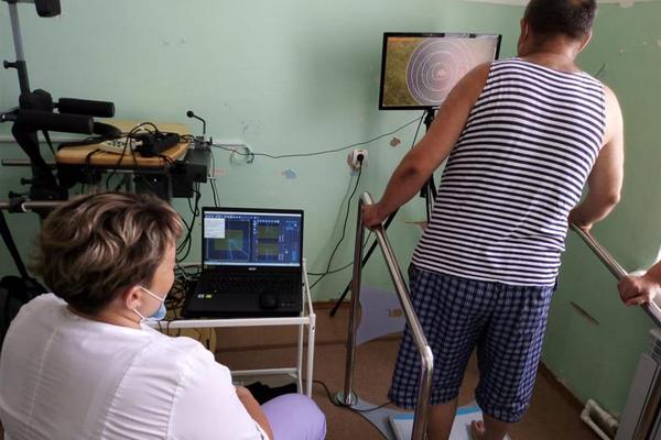В ЦРБ Моршанска поступило оборудование для реабилитации после инсульта