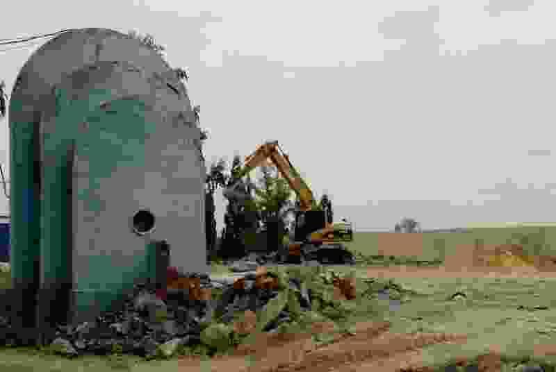 Владельцы ТРЦ «РИО» в Тамбове не спешат возмещать ущерб за снесённый фонтан