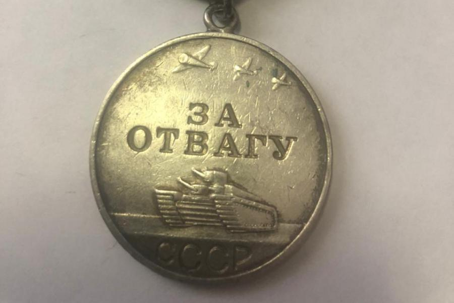Житель Тамбовской области попал под суд за желание продать медаль деда