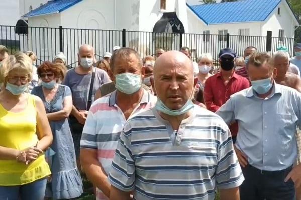 Жители Дегтянского сельсовета попросили у президента защиты от полигона и произвола