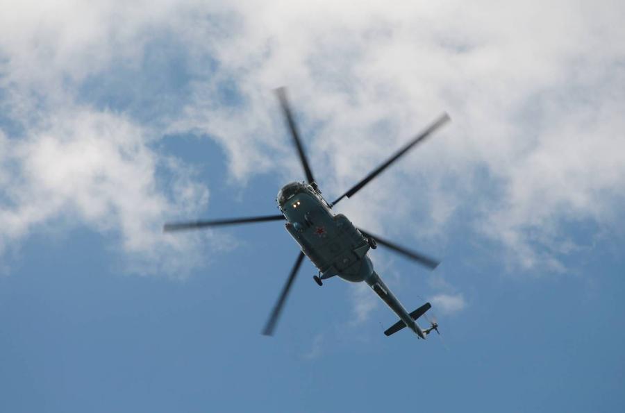 Жители Тамбовского района боятся низко летающих вертолетов