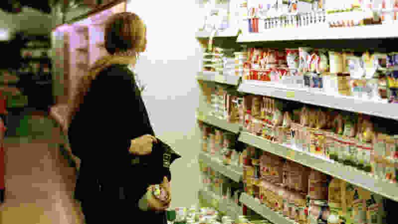 26-летняя тамбовчанка украла из супермаркета продукты
