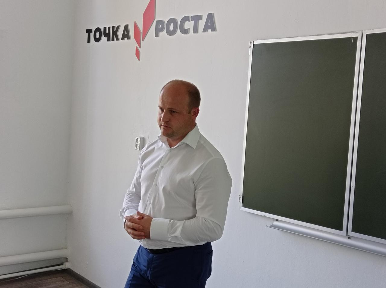 Глава Рассказовского района встретился с жителями села Саюкино