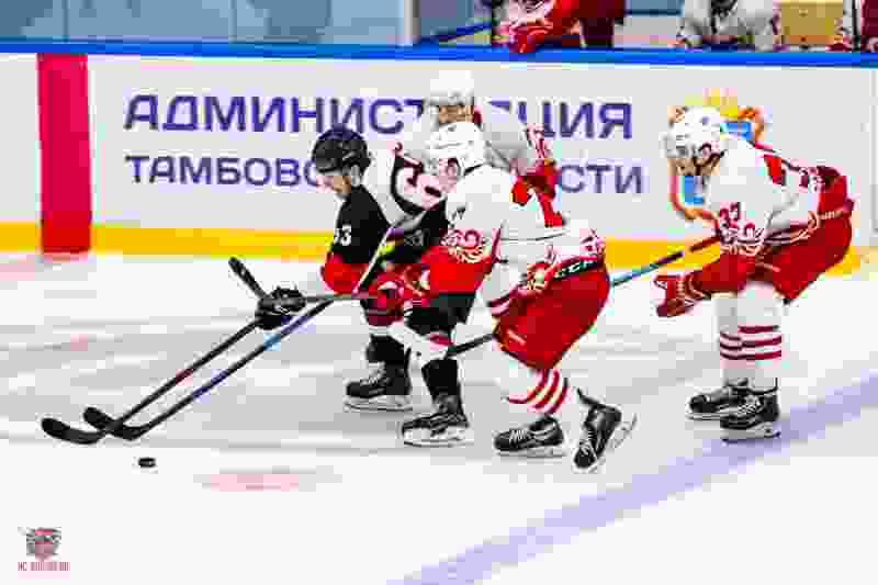 ХК «Тамбов» проиграл второй матч подряд