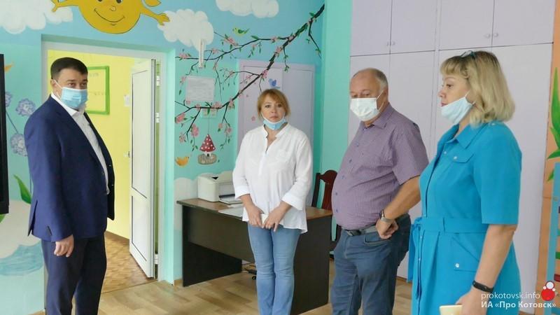 Котовск с рабочим визитом посетил ректор ТГУ Владимир Стромов