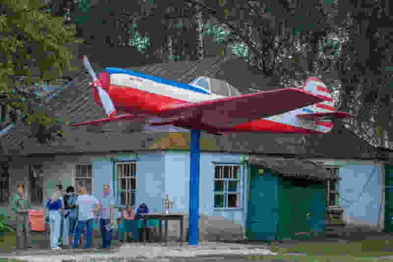 На аэродроме в Горелом восстановили легендарный ЯК-50