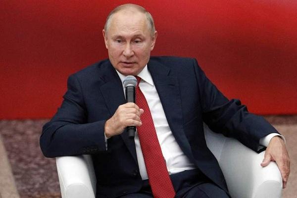 """Об эффективном прохождении Россией пандемии COVID-19 заявил Путин на встрече с представителями партии """"Единая Россия"""""""
