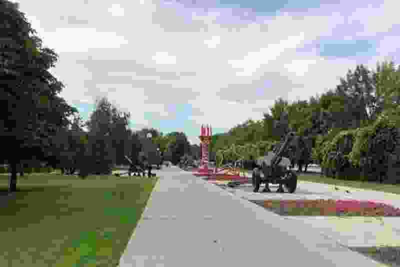 Первый этап реконструкции парка Победы в Тамбове проведут до конца октября