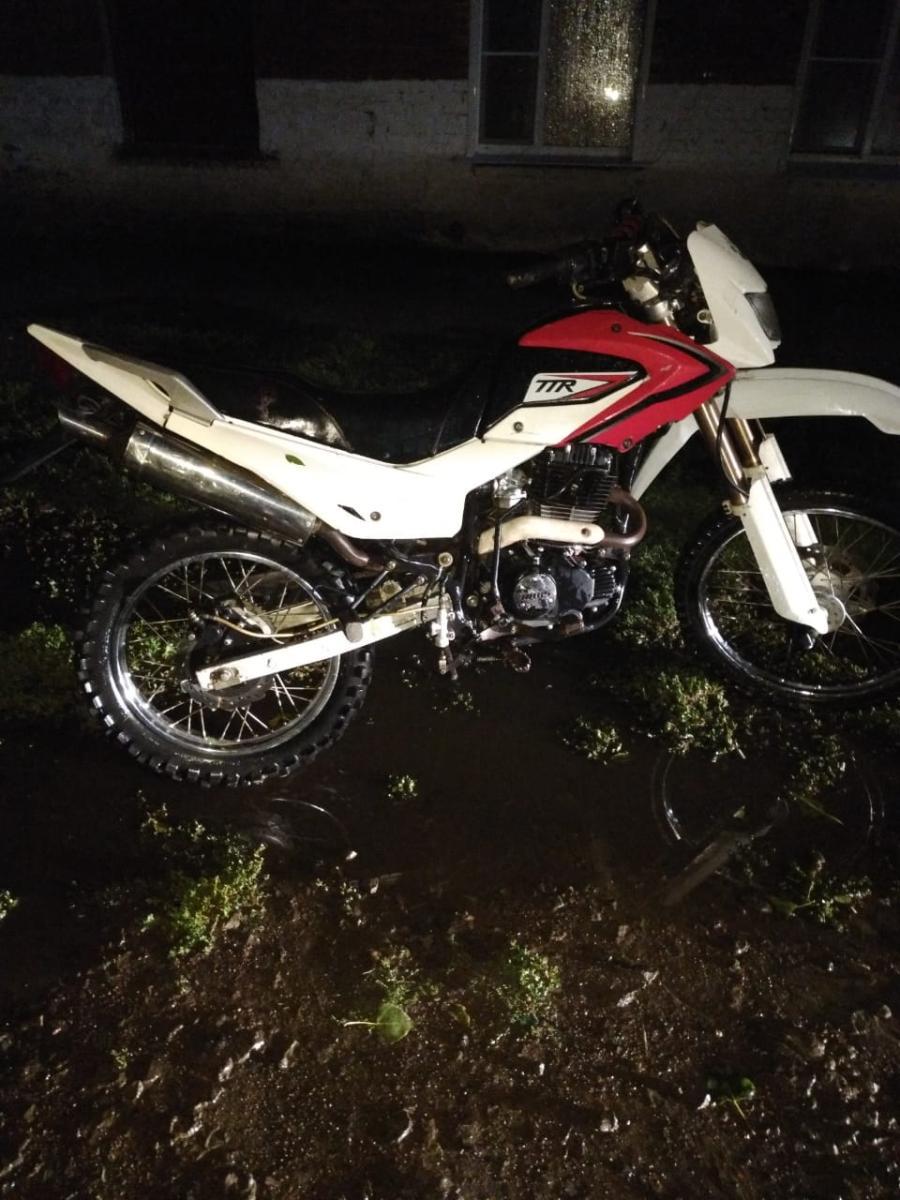Подросток перевернулся на мотоцикле в Токарёвском районе