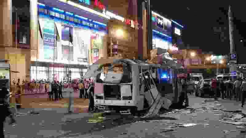 После взрыва автобуса в Воронеже в Тамбове проверят общественный транспорт