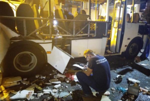 После взрыва автобуса в Воронеже в Тамбовской области проверят пассажирский транспорт