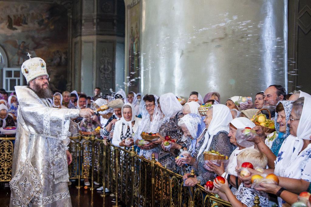 Православные тамбовчане отмечают праздник Преображения Господня