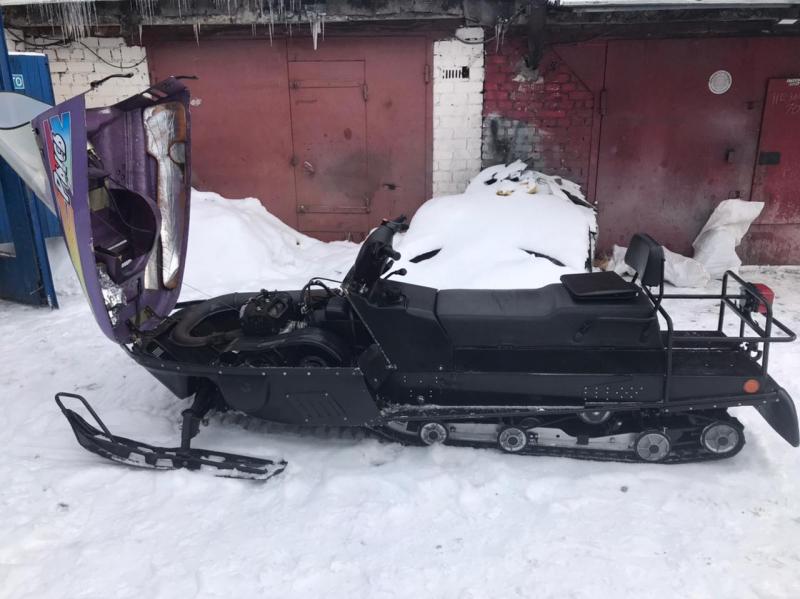 Пьяный котовчанин украл у своего работодателя снегоход