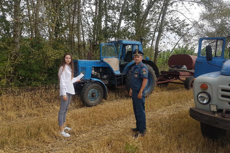 Тамбовчан призывают быть осторожными при сжигании сухой травы