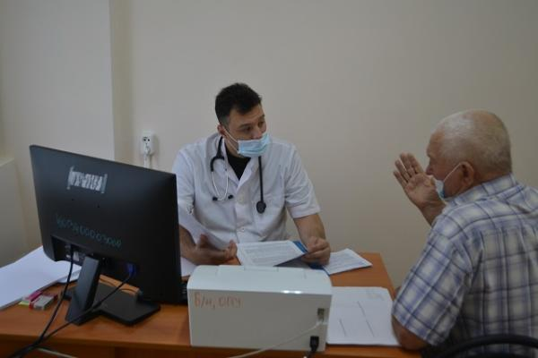 Тамбовчане побывали на приёме у столичных кардиологов