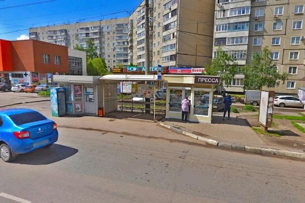 Тамбовчане пожаловались на плохое состояние остановки в районе МЖК