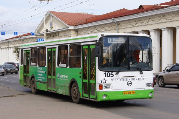 Тамбовская область получила из Москвы 50 автобусов, выпущенных 10 лет назад