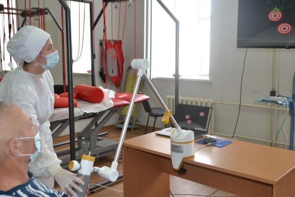 Тамбовская областная больница получила новое оборудование для реабилитации