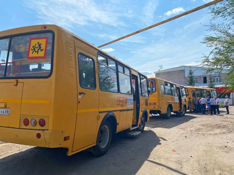 Тамбовские автоинспекторы проверили школьные автобусы