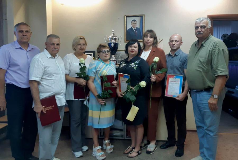 Тамбовские тренеры и спортсмены получили областные награды
