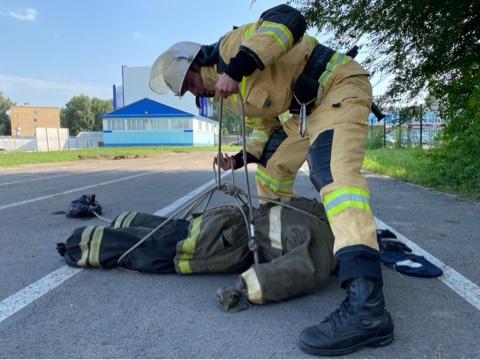 Тамбовский пожарный вошёл в десятку лучших по стране