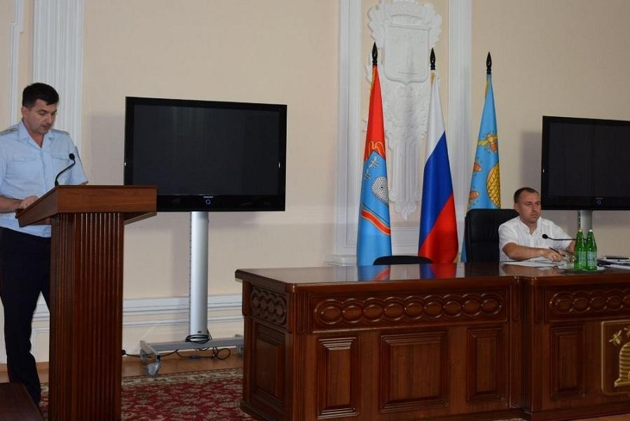 В администрации Тамбова обсудили вопросы антитеррористической безопасности