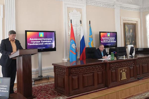 В администрации Тамбова отчитались о готовности образовательных учреждений