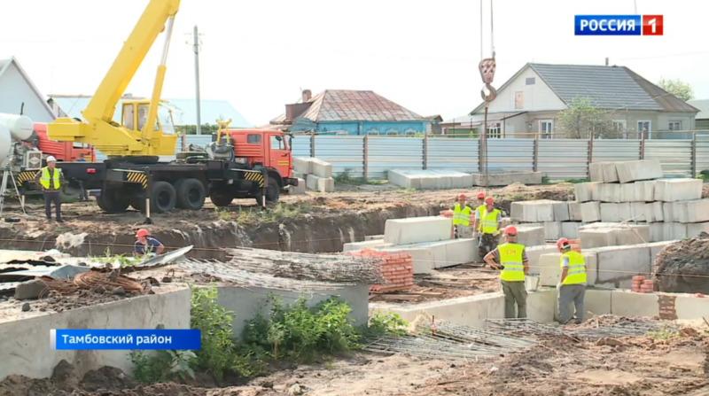 В Донском стартовало строительство дома культуры