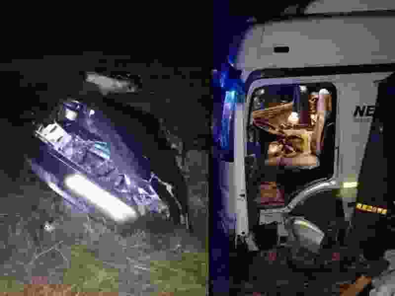 В ДТП с участием грузовика в Петровском районе погиб водитель