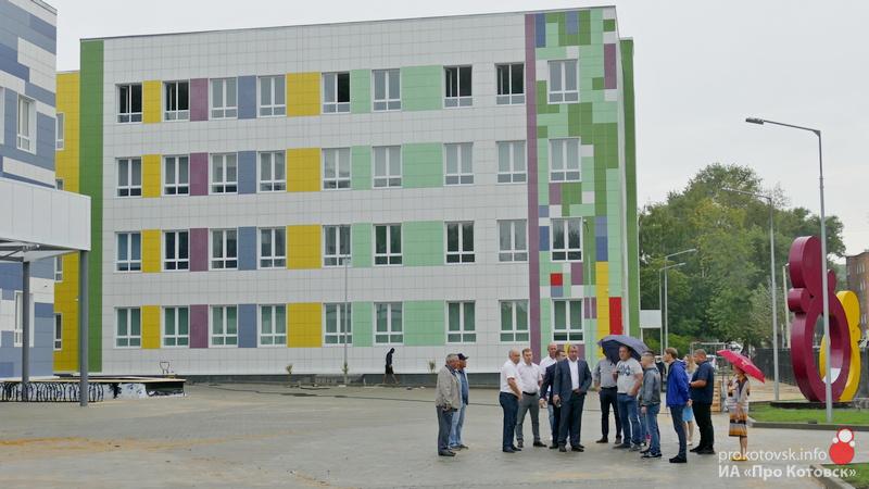 В Котовске приближается открытие новой экотехношколы