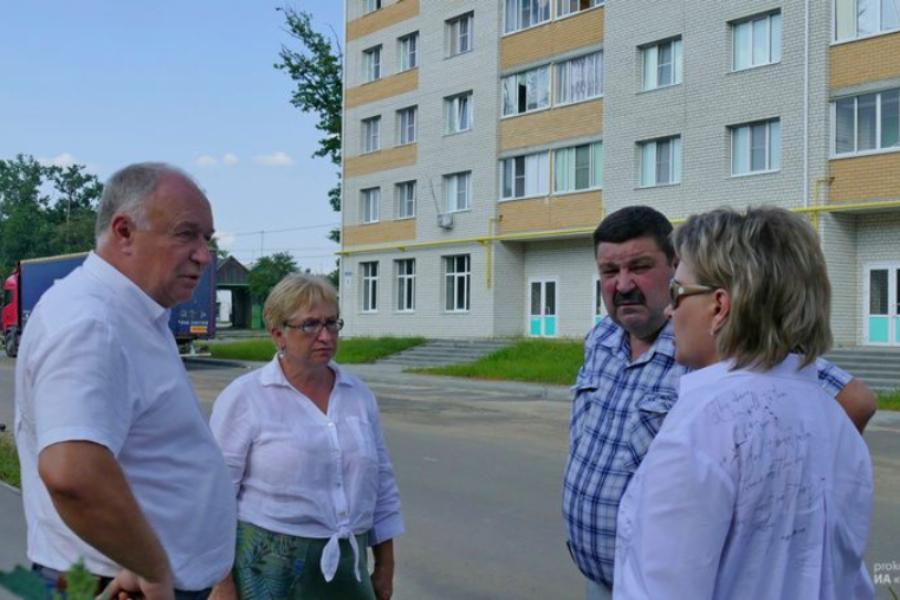 В Котовске строительство многоквартирного дома на улице Тенистой держат на контроле