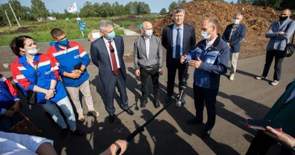 ВПетрозаводске начали перерабатывать осадок сгородской канализации вполезный грунт